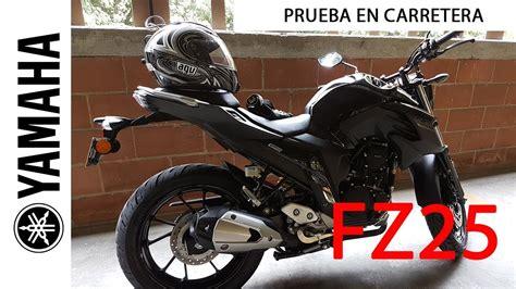 Yamaha FZ 25 Prueba de Ruta Subiendo Montaña Las Palmas ...