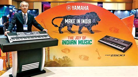 Yamaha Music sings  Make in India  tune