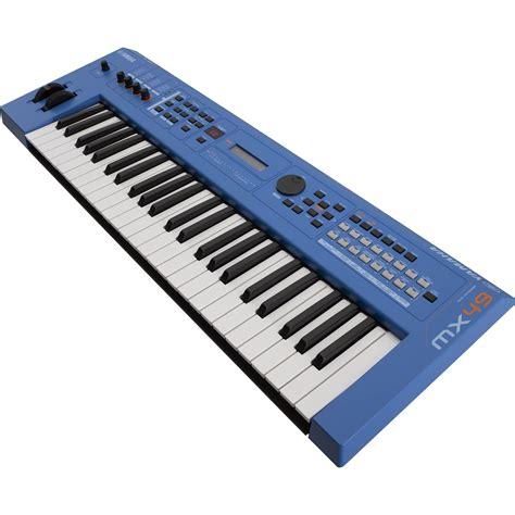 Yamaha MX49 v2 Music Production Synthesizer  Blue  MX49BU B&H