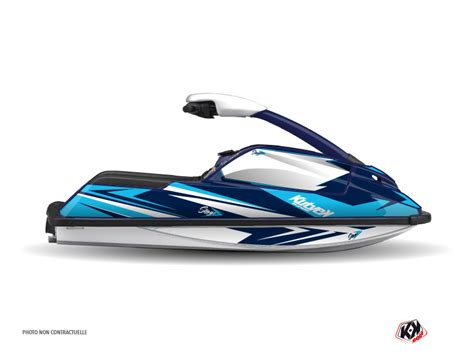 Yamaha Superjet Jet Ski Stage Graphic Kit Blue   Kutvek ...