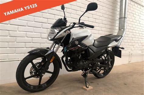 Yamaha YS 125 2017 de segunda mano   Blog de Compro tu Moto