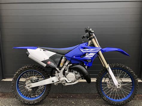 YAMAHA YZ 125 2019 125 cm3   moto cross   60 km   Bleu ...
