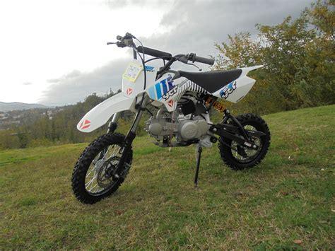 YCF LITE 125 2020 125 cm3   moto cross   15 km   Blanc ...