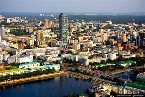 Yekaterinburg – the view from above · Russia Travel Blog