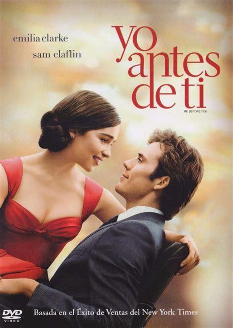 Yo Antes De Ti Emilia Clarke Pelicula Nueva Original Dvd ...