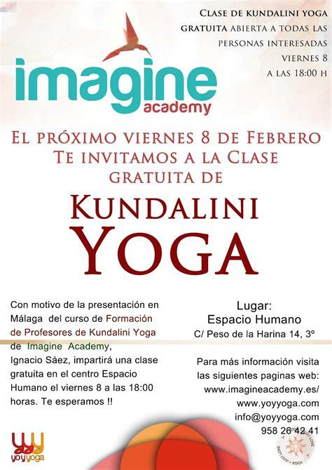 Yoga Sala Málaga: Clase abierta y gratuita de Kundalini ...