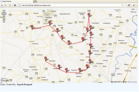 Yogi s Talk . . .: Google Maps : Create Marker and Draw ...
