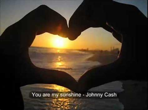 You Are My Sunshine   Johnny Cash   VAGALUME