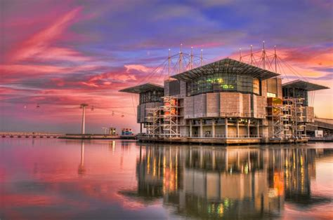 You must see Lisbon Oceanarium At Sunset if you happen to ...