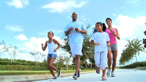 Young African American Asian Indian Girls Outdoor Fitness ...