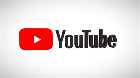 Youtube Logo   Download Free 3D model by Anthony Yanez ...