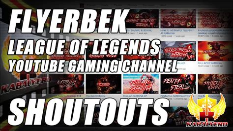 YouTube Subscriber Shoutout ★ Flyerbek ★ Curse Network ...