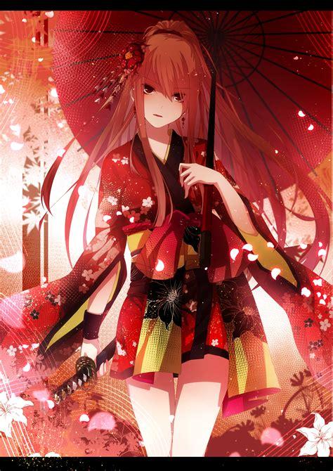yukata, Anime Girls, Original Characters, Traditional ...