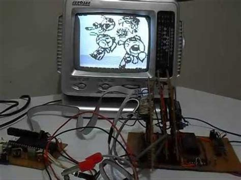 Z80 home made Computer  v2  with video output, keyboard ...