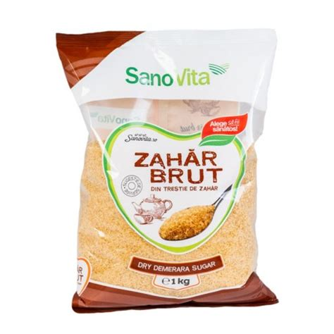 Zahar brut  din trestie  1kg la pret de producator   SanoVita