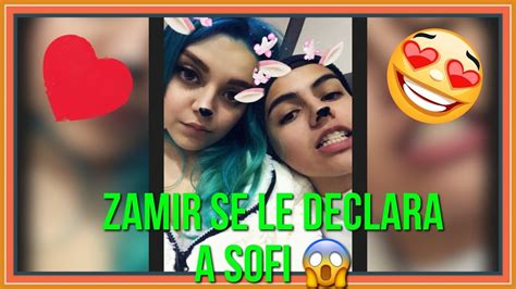 Zamir Villamil se le declara a Sofia Castro   YouTube