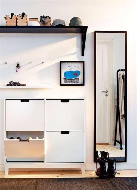 zapatero de Ikea | Decoración entradas de casa ...