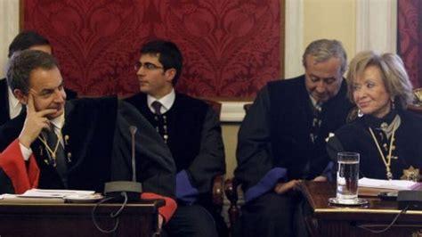 Zapatero, De la Vega y otros miembros del Consejo de ...