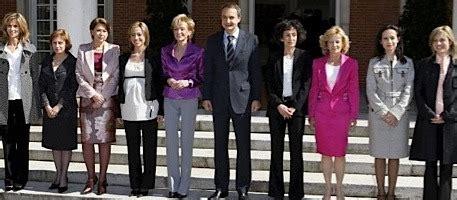Zapatero deja bien colocadas a las 'miembras' de su ...