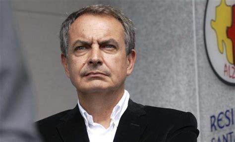 Zapatero desmiente a Borges:  Es una burda calumnia de la ...