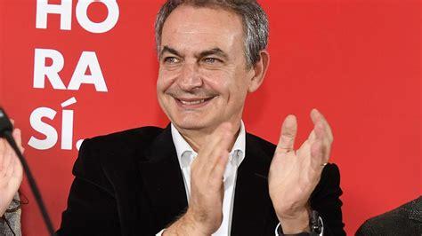 Zapatero, sobre el acuerdo entre PSOE y Unidas Podemos ...
