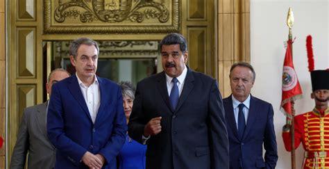 """Zapatero sobre el Papa y Venezuela: """"Coincidimos en buscar ..."""