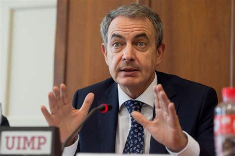 Zapatero también carga contra Rivera:  Es bastante de ...