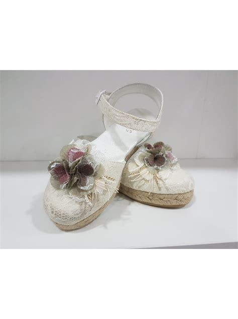 Zapato comunión esparto niña Número niña 31