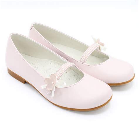 Zapato de Comunión de niña en piel colores