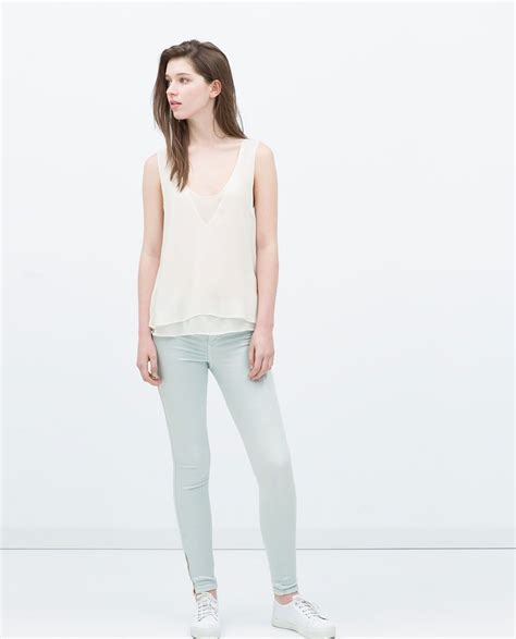 ZARA   TRF   SUPER SOFT JEANS | Zara, Women jeans, Clothes