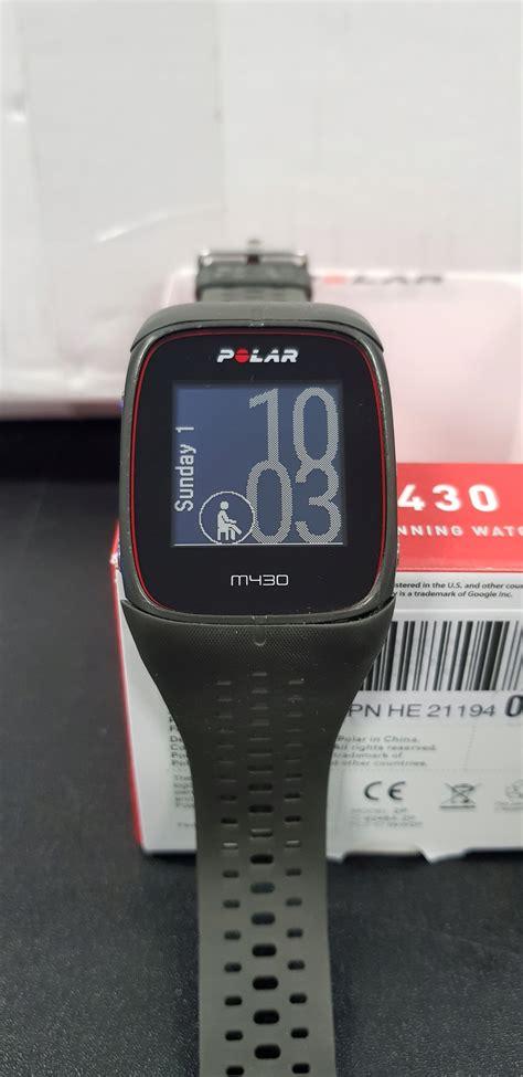 Zegarek sportowy Polar M430 Szary   7446766150   oficjalne ...