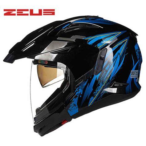 ZEUS 4 STYLES Motorcycle / MOTOCROSS /HALF FACE Helmet ATV ...