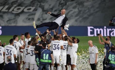 Zidane:  Tengo contrato, pero en el fútbol nunca se sabe