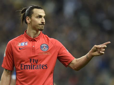 Zlatan Ibrahimovic is  thick as two short planks  and ...