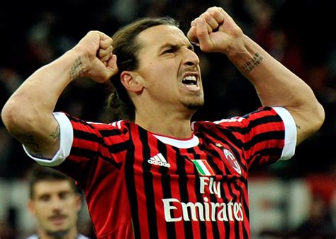 Zlatan Ibrahimovic listo para reaparecer hoy en el Milan
