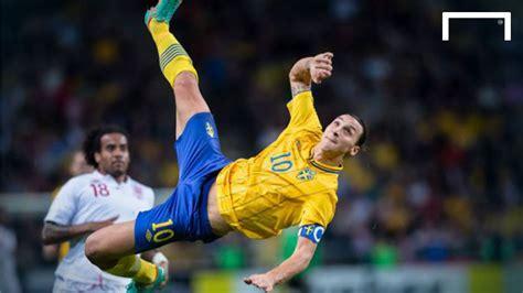 Zlatan Ibrahimovic s famous 30 yard bicycle kick vs ...