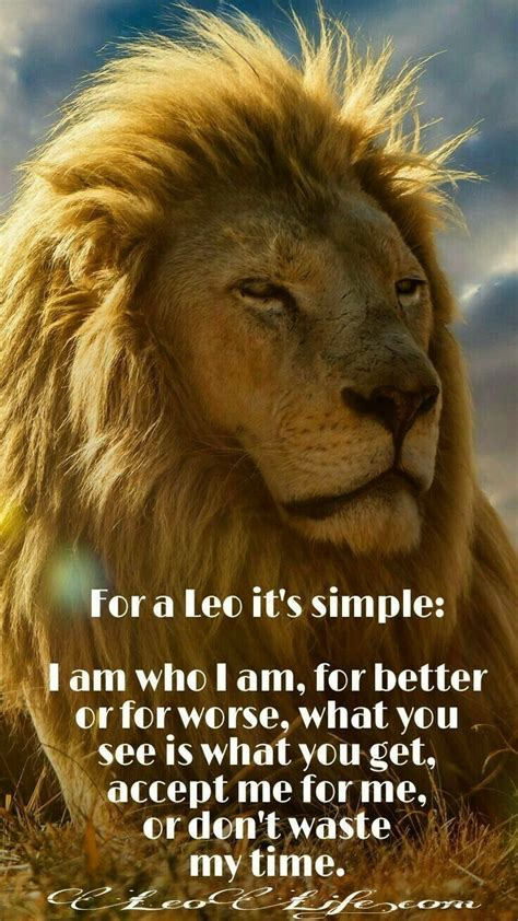 Zodiac   Leo I am often told that I am  real , and that s ...