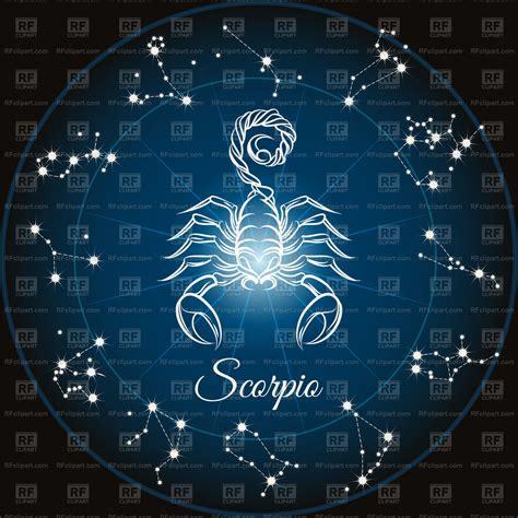 Zodiac sign Scorpio   Vector Stock Image of Signs, Symbols ...