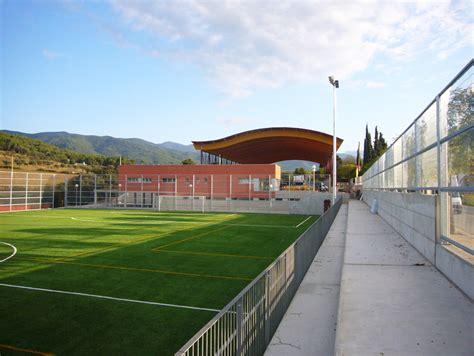Zona deportiva Corró d´Amunt Soluciones a medida Aceroid