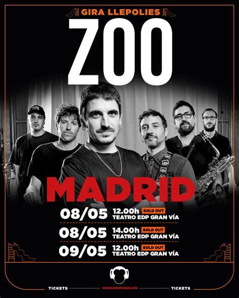 ZOO agota entradas en Madrid para su presentación de ...
