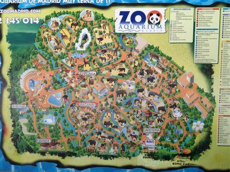 Zoo Aquarium Madrid Map