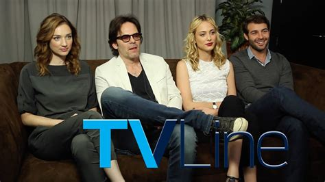 Zoo  Cast Interview at Comic Con 2015   TVLine   YouTube