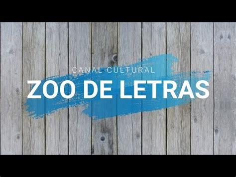 Zoo de Letras: Trailer   YouTube