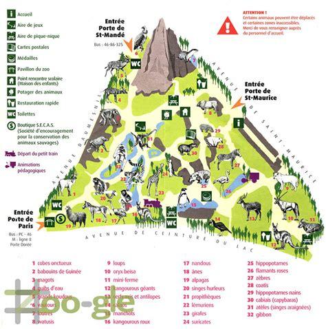 Zoo gle » Parijs Vincennes