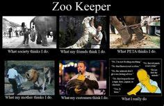 Zoo keeper sample resume...one of the only ones I can find ...