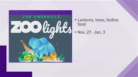 Zoo Knoxville celebrates holiday season with Zoo Lights ...