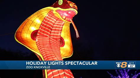Zoo lights bring Christmas spirit to Zoo Knoxville