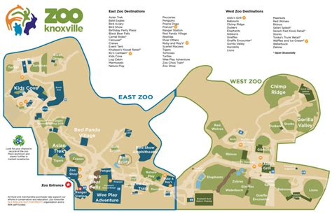 Zoo Map | Zoo Knoxville