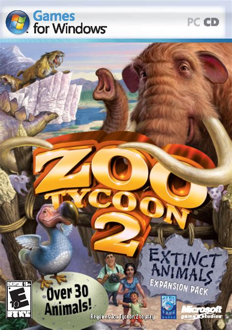 Zoo Tycoon 2 Extinct Animals PC Full Español ISO   Gamezfull