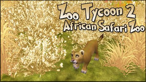 Zoo Tycoon 2 || Lion Cubs!!   Episode #12 || World Zoo ...